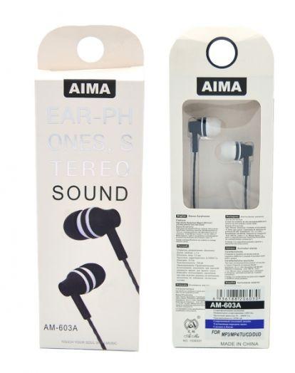 AIMA 603A наушники вакуум гарнитура