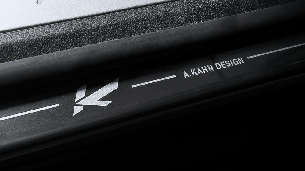Накладки на пороги (Porsche Panamera)