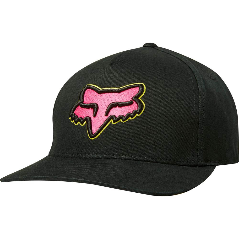 Fox - Epicycle Idol Limited Edition Flexfit Hat Black/Pink бейсболка, черно-розовая