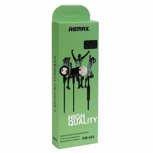 Remax RM-604 наушники вакуум - гарнитура