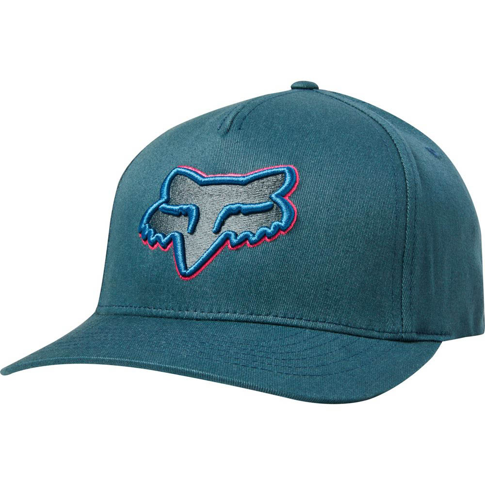 Fox - Epicycle Idol Limited Edition Flexfit Hat Navy/Light Blue бейсболка, сине-голубая