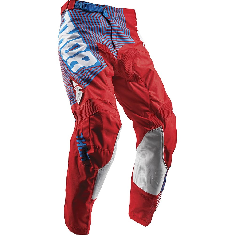 Thor - 2018 Pulse Geotec Red/Blue штаны, красно-синие