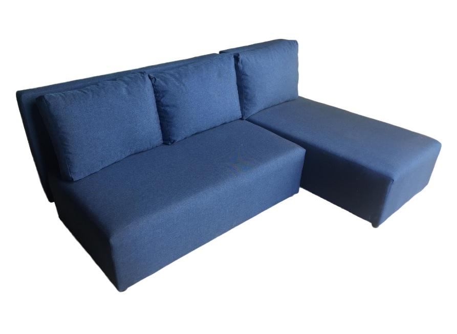 Угловой диван Олимп (Комо) синий