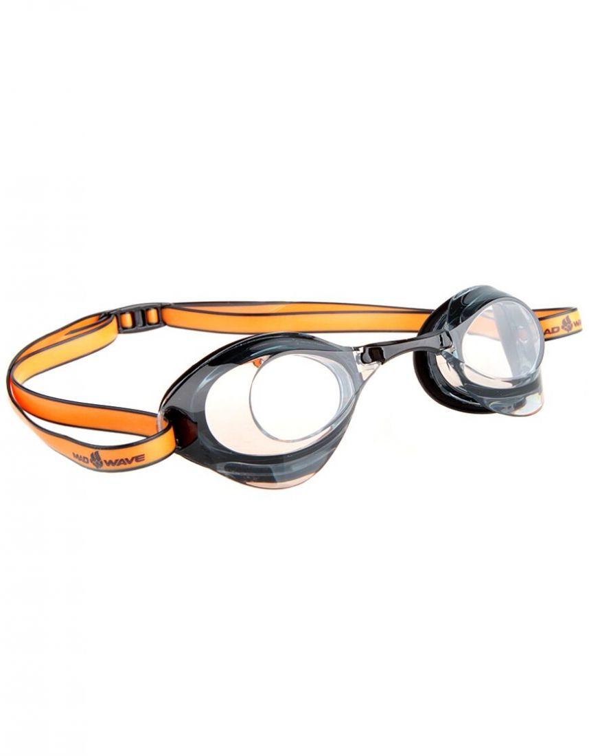 Очки для плавания стартовые Mad Wave Turbo Racer II