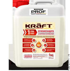 Огнебиозащита KRAFT 1 группа (без цвета) 20 л.