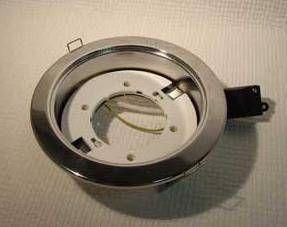 Светильник встраиваемый Ecola GX70-H5 Сатин-хром 53x151 FS70H5ECB