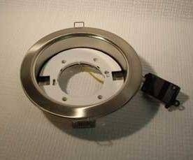 Светильник встраиваемый Ecola GX70-H5 Хром 53x151 FC70H5ECB