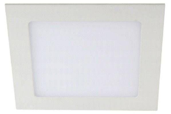Светильник встраиваемый светодиодный ЭРА св/д 6W 4000К квадрат 220-240V 4K белый IP20 LED 2-6