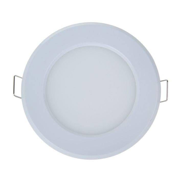 Светильник встраиваемый светодиодный ASD/inHome  даунлайт 3W(210lm) 4000K 4K d90(80)x25 белый IP40 RLP-eco 7953
