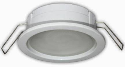 Светильник встраиваемый Ecola GX53-PD глубокий легкий Белый 31x95 FW53PDECC