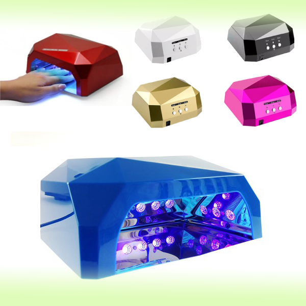 Гибридная лампа для сушки гель-лаков Dimond CCFL/LED 36W