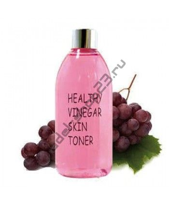 REALSKIN - Уксусный тонер на основе ферментированного экстракта красного вина