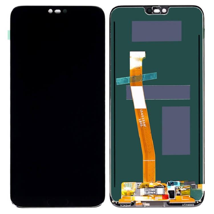 Дисплей в сборе с сенсорным стеклом и сканером отпечатка для Huawei Honor 10 (Original)