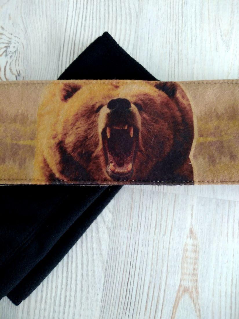 Мужская повязка Медведь