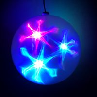 Большой эксклюзивный шар с LED светодиодами, Диаметр: 30 см