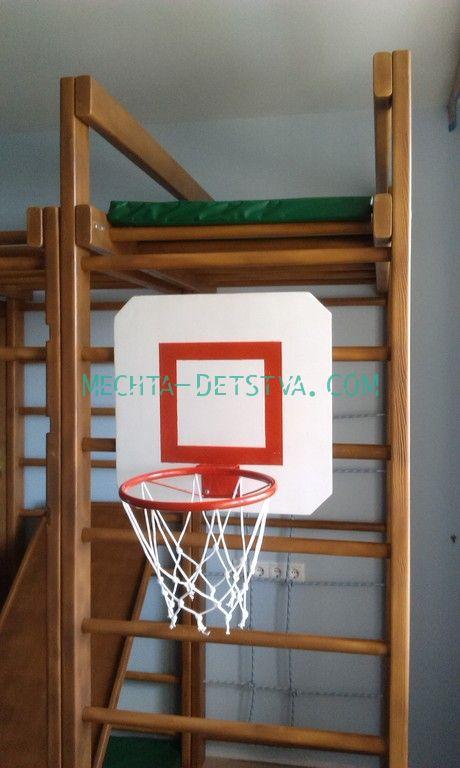 Баскетбольный щит для комплексов