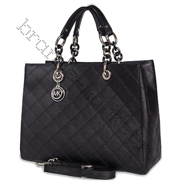 Michael Kors Cynthia (Black quilted)