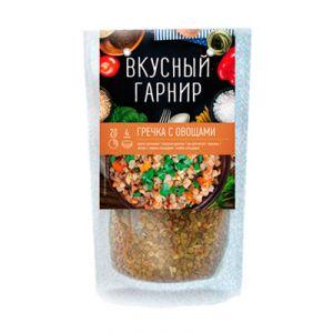 ВКУСНЫЙ ГАРНИР Гречка с овощами 200 г
