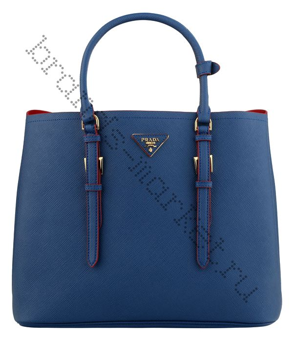 Prada Saffiano Cuir Double Bag