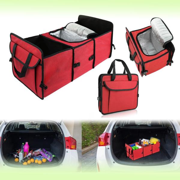Органайзер - термосумка (холодильник) в багажник авто Trunk Organaizer & Cooler