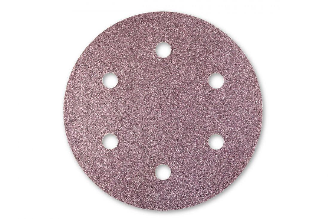 Sia 1950 Siaspeed абразив в кругах, 77мм., 6 отверстий, P120, (пачка 100 шт.)
