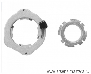 Адаптер Leigh RA1129 для копировальных втулок к фрезеру Bosch. В наборе  RA1100 и RA1113 М00015075