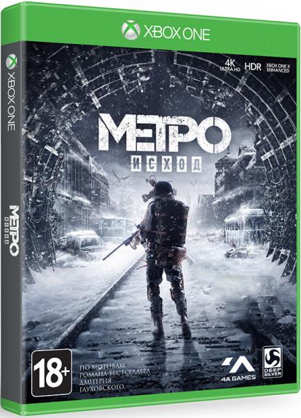 Игра Metro: Exodus (Исход) (Xbox One)