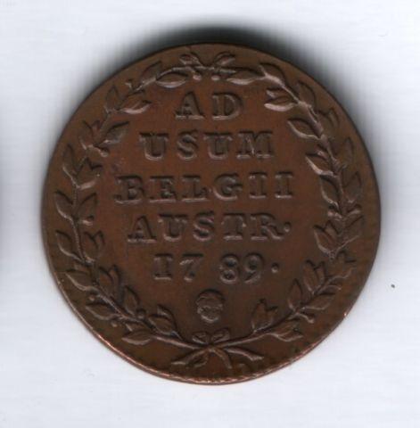 2 лиарда 1789 года Австрийские Нидерланды, AUNC