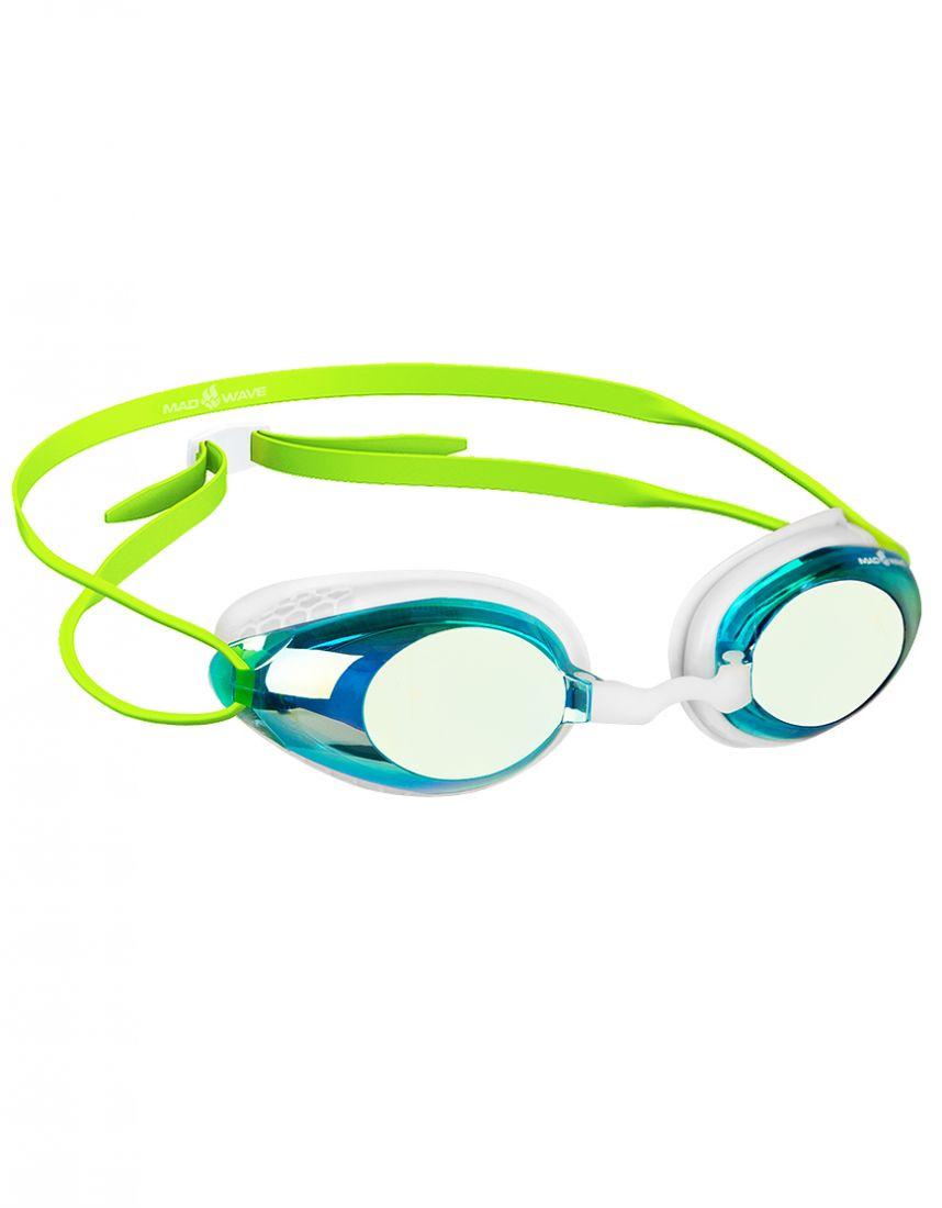 Очки для плавания тренировочные Mad Wave HONEY Rainbow