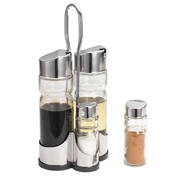 Набор Для Специй SPICE RACK SET, 4 Предмета