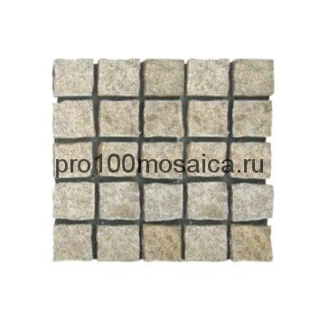PAV-G-302 гранит. Брусчатка серия PAVING,  размер, мм: 500x500x30~40 (NS Mosaic)
