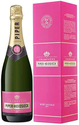 "Champagne Piper-Heidsieck Rose Sauvage (gift box ""Wine store"")"