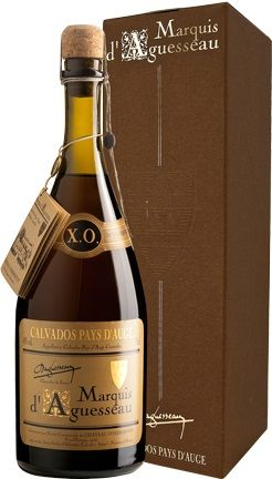 Calvados Marquis d'Aguesseau XO 20 ans
