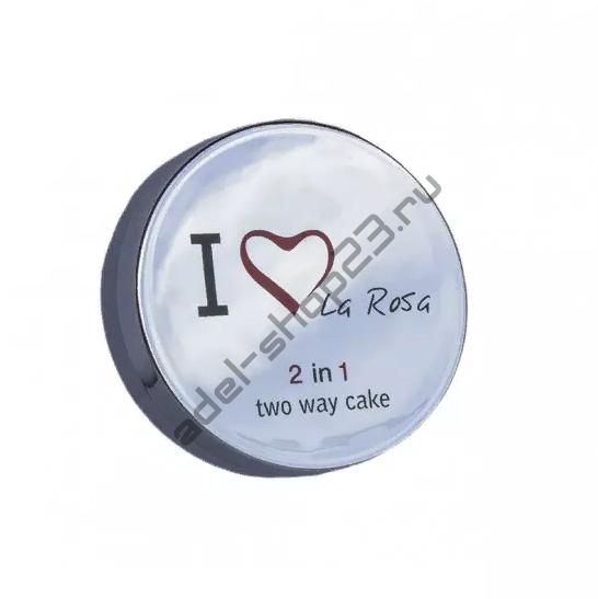 La Rosa - крем-пудра компактная 2 в 1