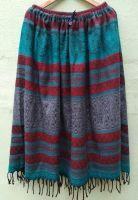 Теплая этническая юбка. Индия / Непал. Купить в интернет магазине