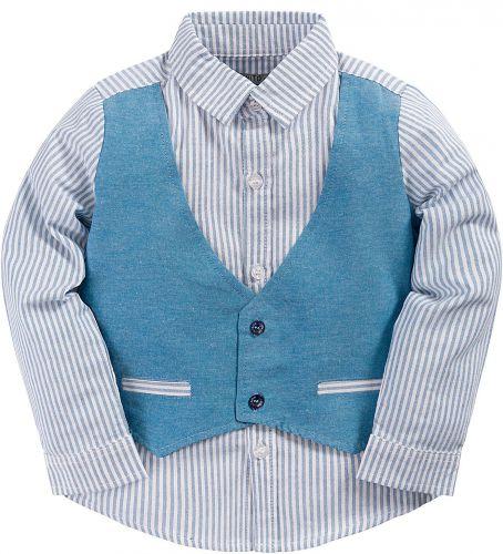Рубашка для мальчика 3-7 лет Bonito BK246C2