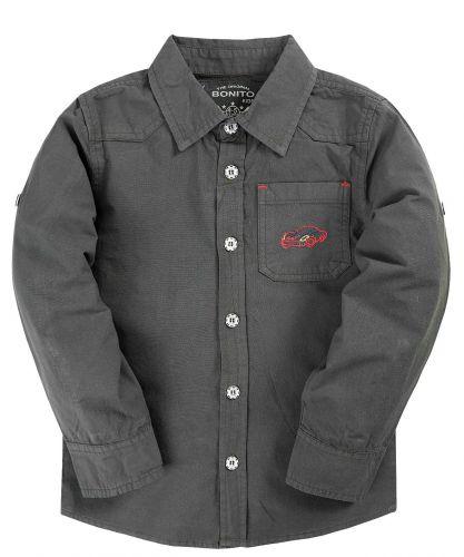Рубашка для мальчика 2-5 лет Bonito BK821P