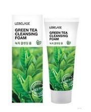 LEBELAGE Очищающая пенка для лица с экстрактом зеленого чая, 100 мл