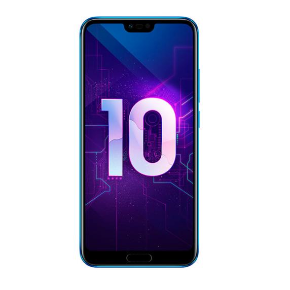Honor 10 4/64 ГБ (мерцающий синий)