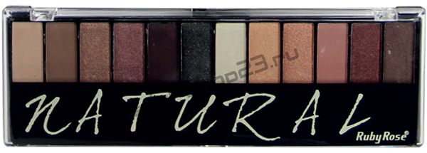 Ruby Rose - Тени для век №HB-9908 Natural  12-ти цветные