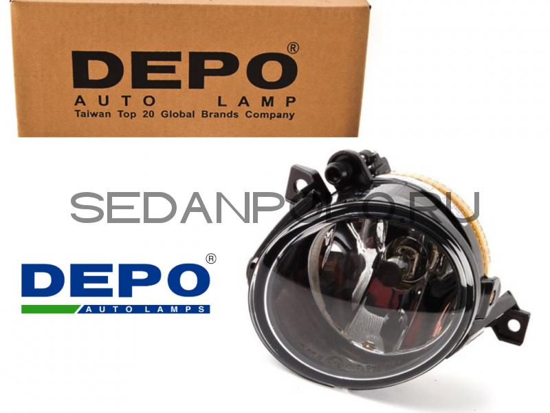 Фара противотуманная правая DEPO Volkswagen Polo Sedan