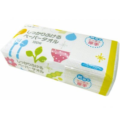 Life-do Бумажные полотенца для кухни (плотные, тисненые) 100 шт