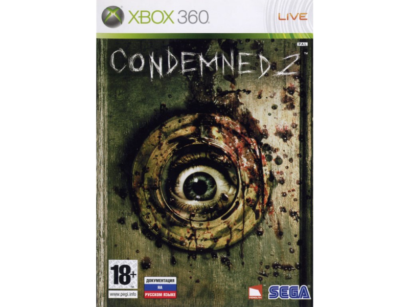 Игра Condemned 2 (Xbox 360)