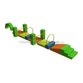 Мягкий спортивный модуль Крокодил