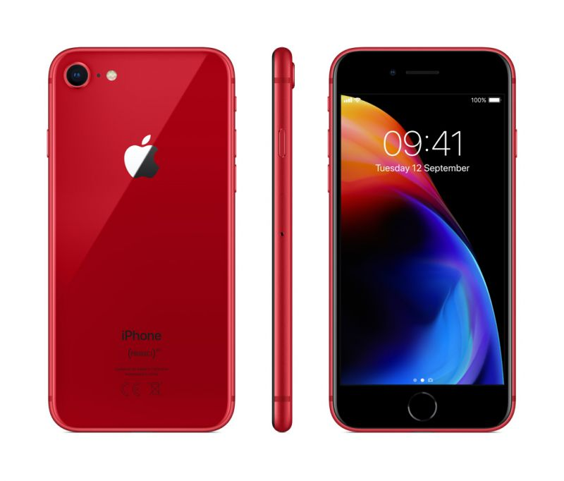 Apple iPhone 8 256GB LTE Red (A1905) (MRRN2RU/A)