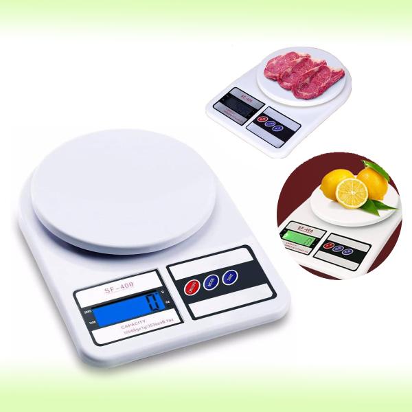 Электронные кухонные весы SF-400, 7 кг