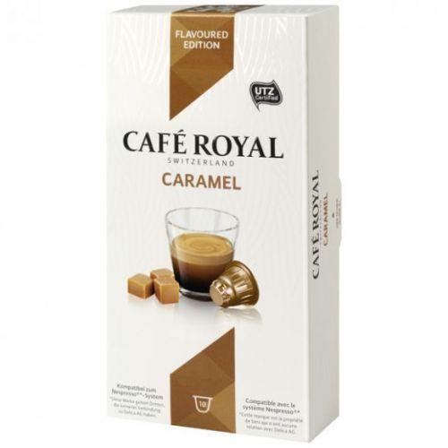 Кофе в капсулах Cafe Royal Caramel 10 шт ( совместимые с кофемашинами Nespresso)