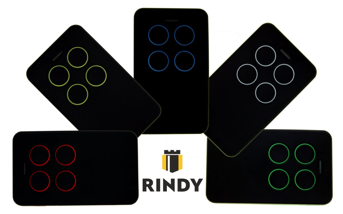 Пульт универсальный RINDY MULTI 2 433-868 мГц (Came, Nice, Hermann, Faac, Ditec, BFT)