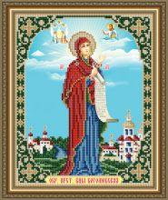 VIA4270 Art Solo.  Боголюбская Образ Пресвятой Богородицы. А4 (набор 625 рублей)