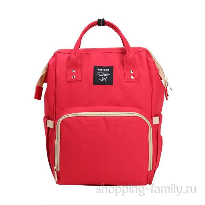 Сумка-рюкзак для мамы Mummy Bag, цвет красный